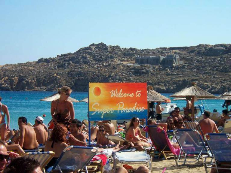 Best Island Beaches For Partying Mykonos St Barts: La Veranda Of Mykonos Traditional Guesthouse
