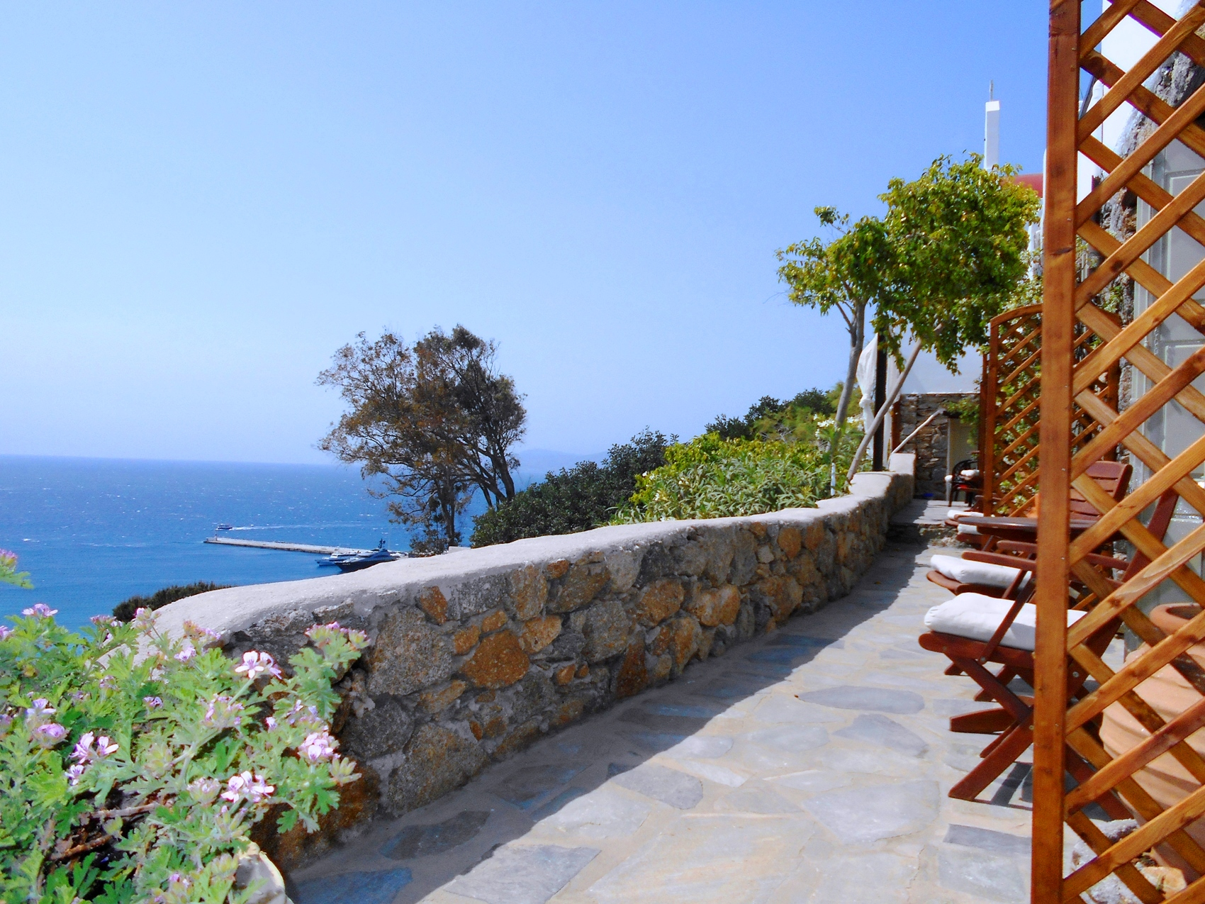 La Veranda of Mykonos - Double Room with Sea View