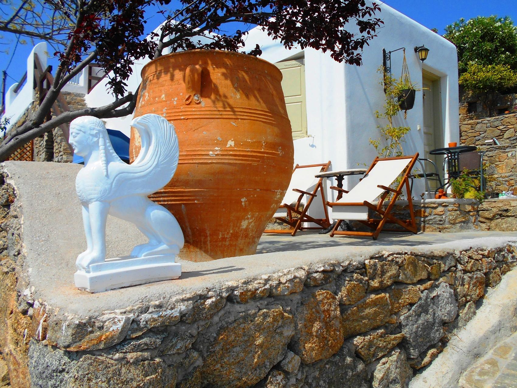 La Veranda of Mykonos - Superior One Double Bedroom Studio Sea View