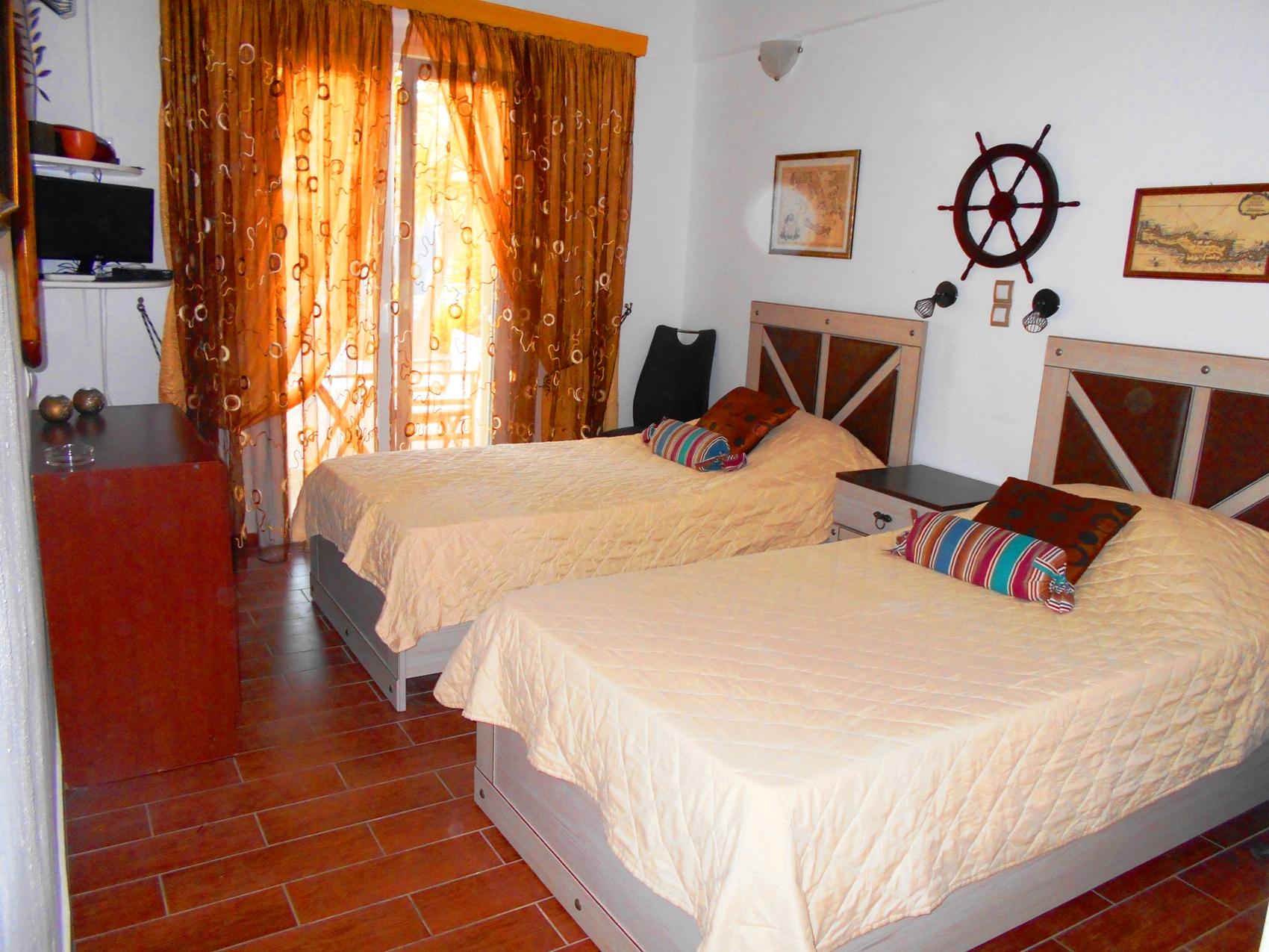 La Veranda of Mykonos - Twin Room with Pool View